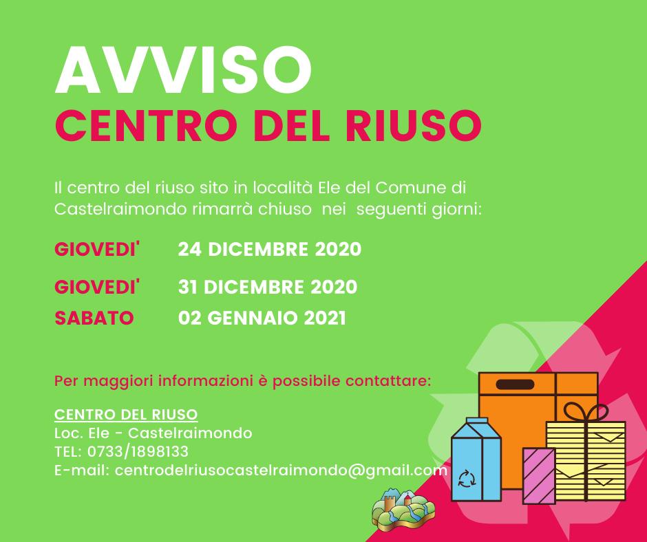 CHIUSURA - CENTRO DEL RIUSO (1)